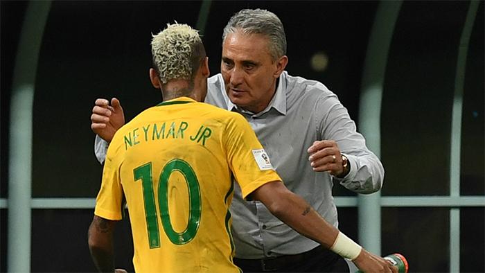 Se pensar somente em jogar futebol, influenciado por Tite, Neymar pode ajudar numa possível conquista do hexa.