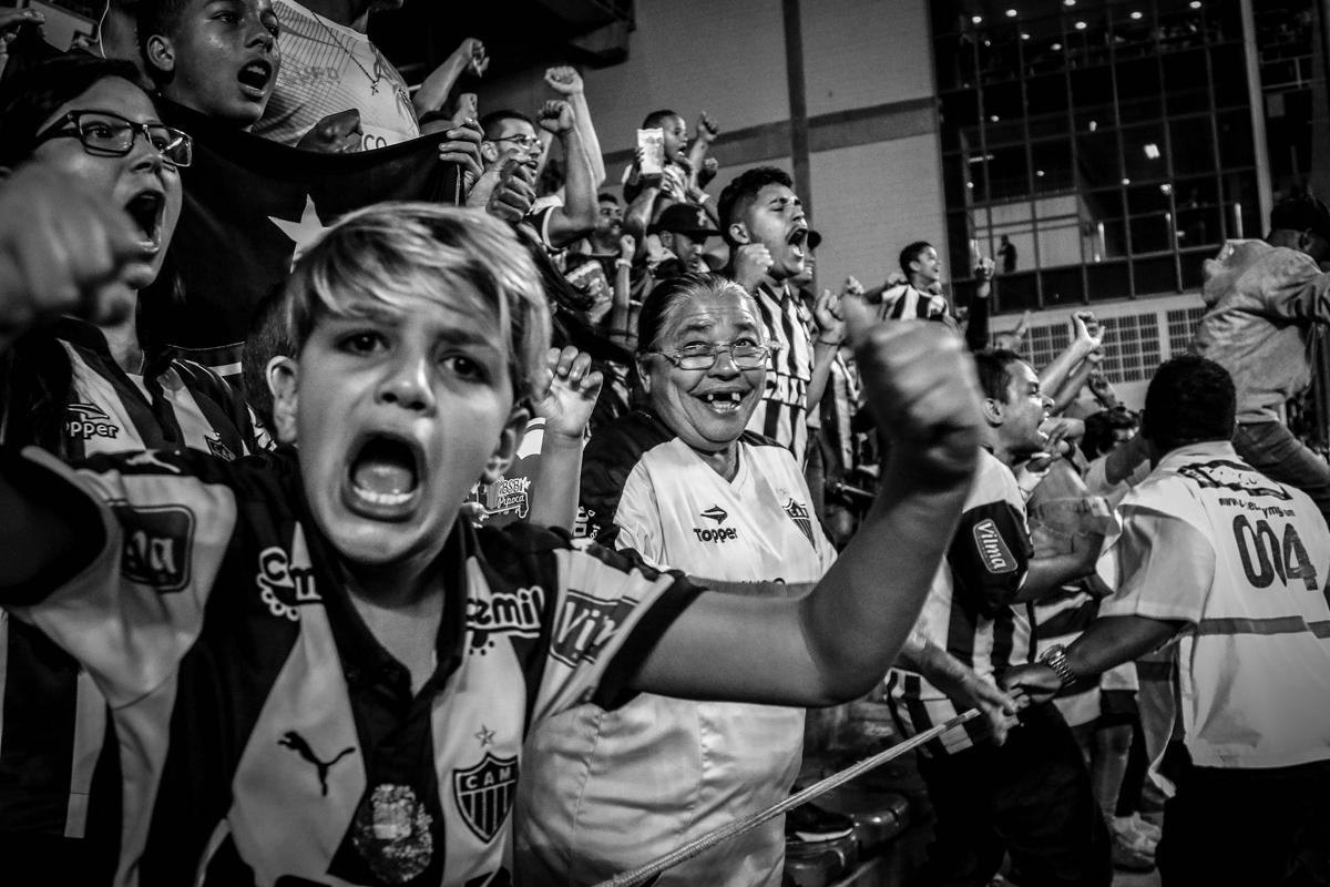 'Clube Atlético Mineiro... Uma vez até morrer'.