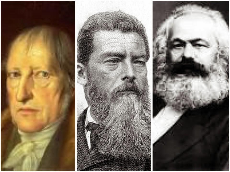 Hegel, Feuerbach e Marx