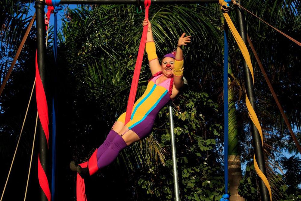 Evento no Parque Ecológico Primeiro De Maio com o Circo Aloma.
