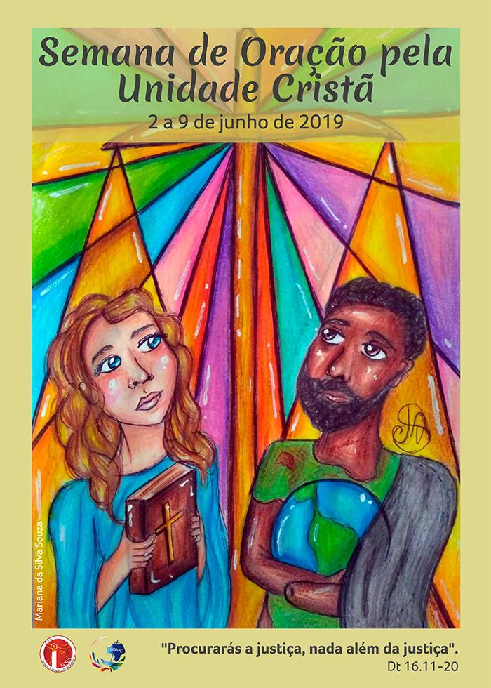 Cartaz da Semana de Oração pela Unidade Cristã de 2019.
