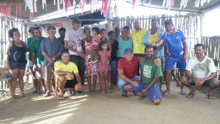 Comunidade Quilombola Braço Forte no município de Salto da Divisa, MG.