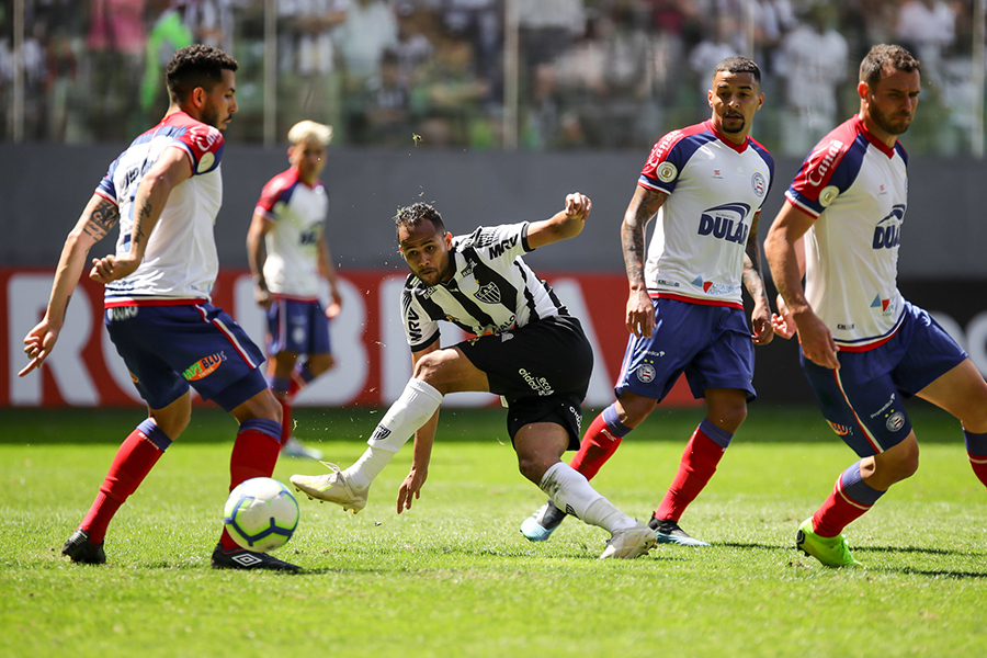 Com reservas em campo, Galo perdeu para o Bahia em casa.