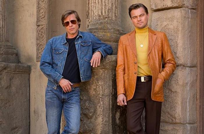 Brad Pitt e Leonardo DiCaprio: duelo de interpretações no novo filme.