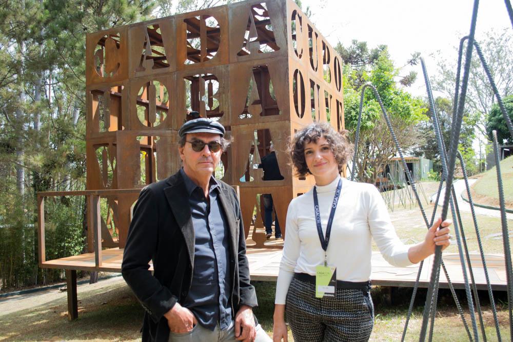 João Diniz e Bel Diniz são responsáveis pelo ambiente Cuboesia.