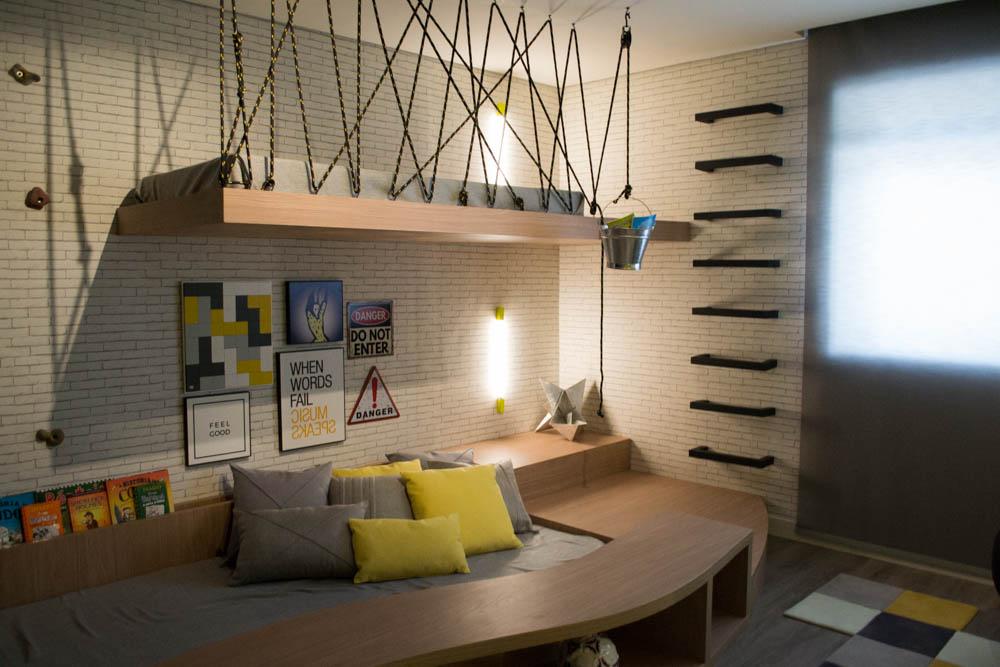 Suite Mirim é um espaço divertido elaborado por Juliana Couri, Maria Gabriela Nogueira e Natacha Nacif