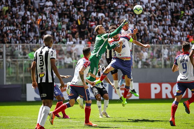 Uma das quatro derrotas seguidas do Atlético foi para o Bahia, em pleno Independência. Na ocasião, Galo usou time reserva.