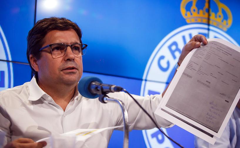Itair Machado é apontado como um dos culpados pela crise administrativa do Cruzeiro