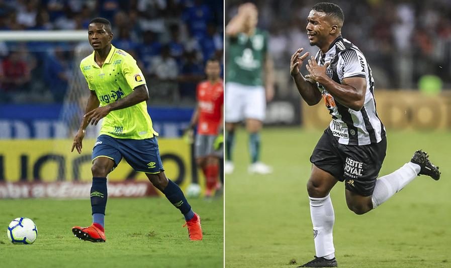 Cacá, do Cruzeiro, e Marquinhos, do Atlético, são exemplos de jogadores que podem brilhar