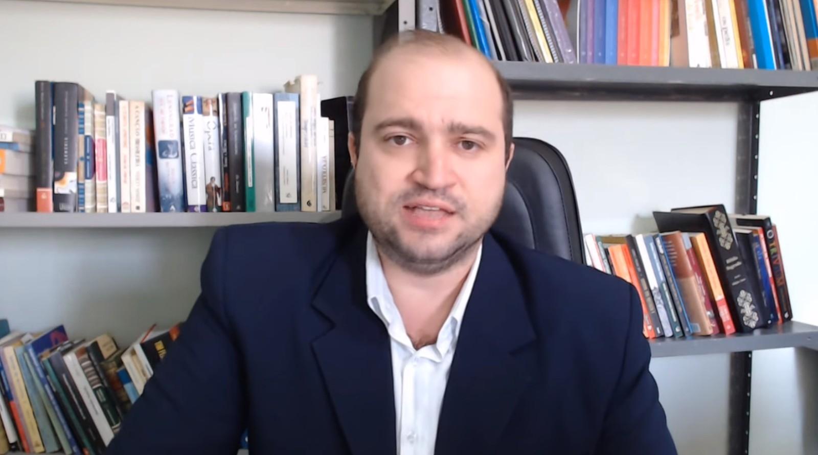 Novo presidente da Funarte, Dante Mantovani
