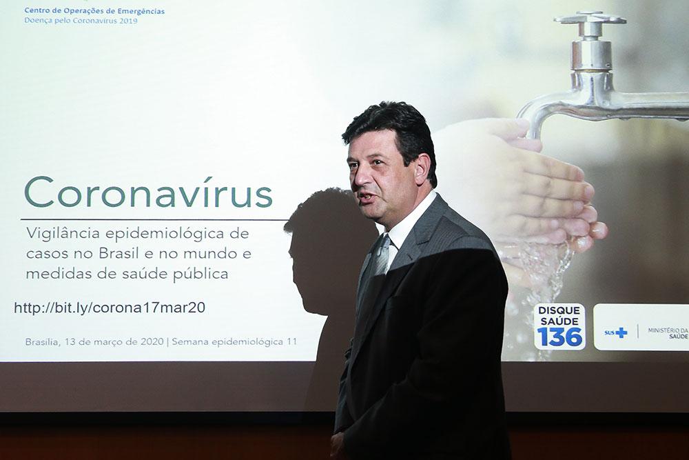 O ministro da Saúde, Luiz Mandetta, tem sido exemplar no enfrentamento do Covid-19
