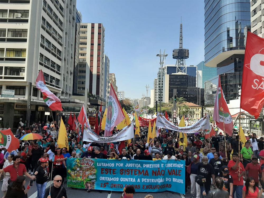 Grito dos Excluídos de 2019, em São Paulo