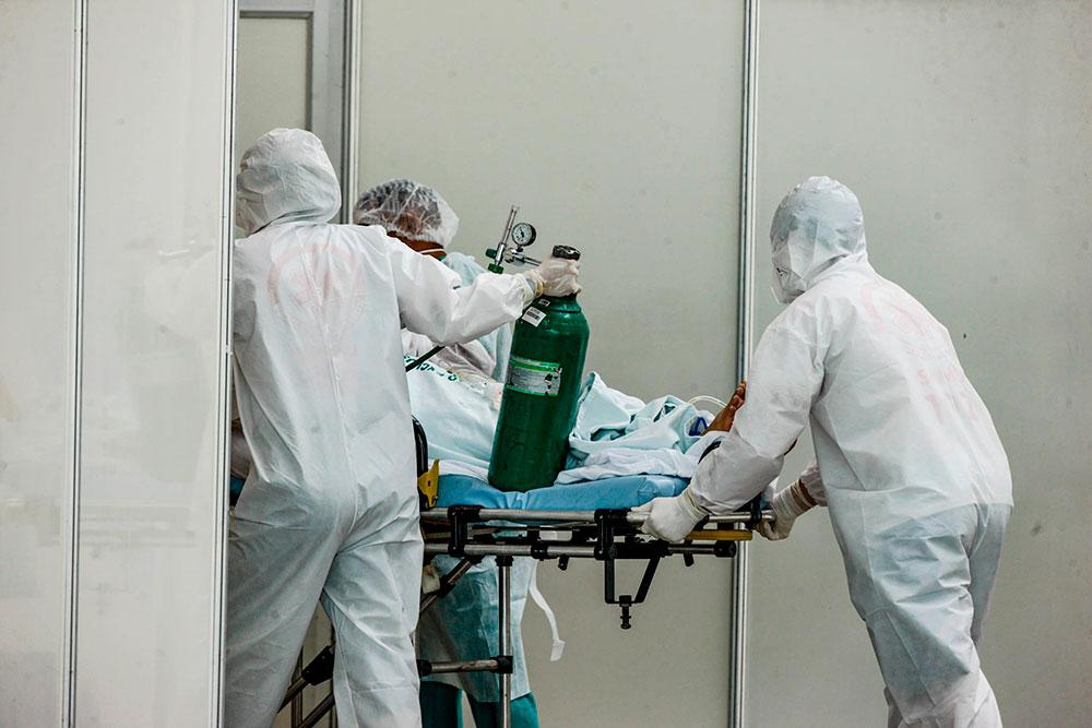 Pará recebe mais quatro pacientes do Amazonas para tratamento de Covid nesta terça-feira (19)