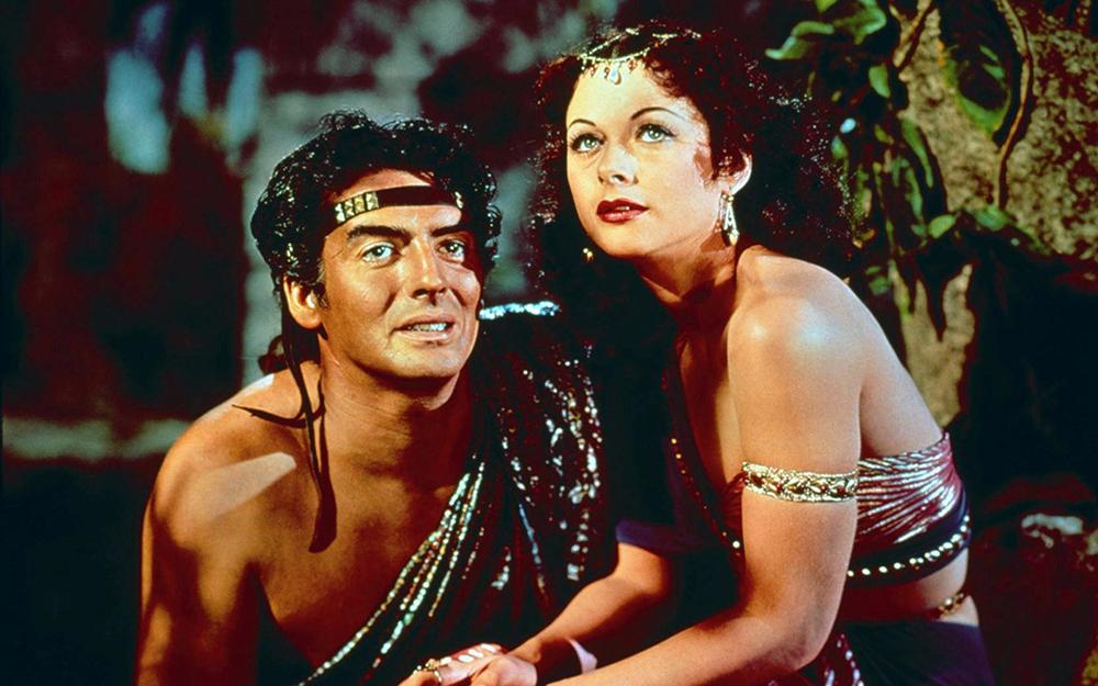 Filme 'Sansão e Dalila', de 1949, dirigido por Cecil B. DeMille