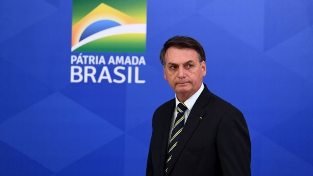 O presidente da República Jair Bolsonaro
