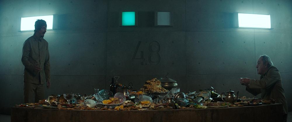 Cena do filme 'O poço'