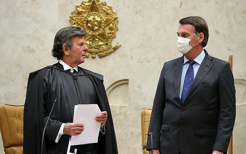Com respeito às instituições, destacando ainda, Luiz Fux, que 'o maior símbolo da democracia é o diálogo. Nunca é tarde para o diálogo e a razão'
