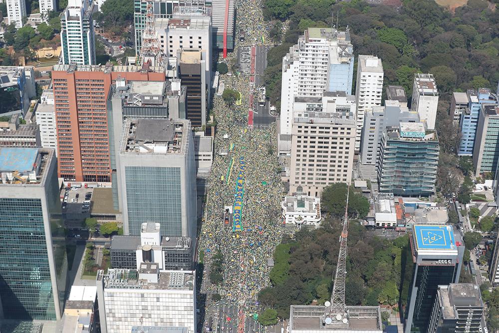 Bolsonaro participa de ato na Avenida Paulista em SP no dia 8/9