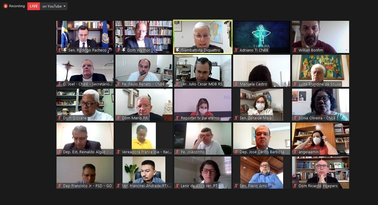 Primeiro Encontro de Parlamentares Católicos a Serviço do Povo Brasileiro
