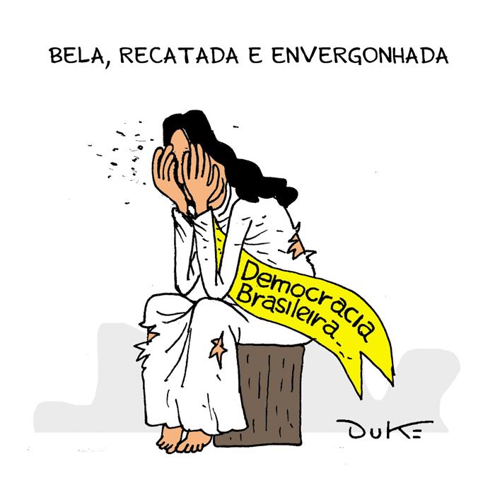TRIBUNA DA INTERNET | Dizer que existe democracia no Brasil é uma enganação surrealista