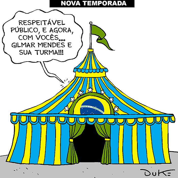 TSE virou circo