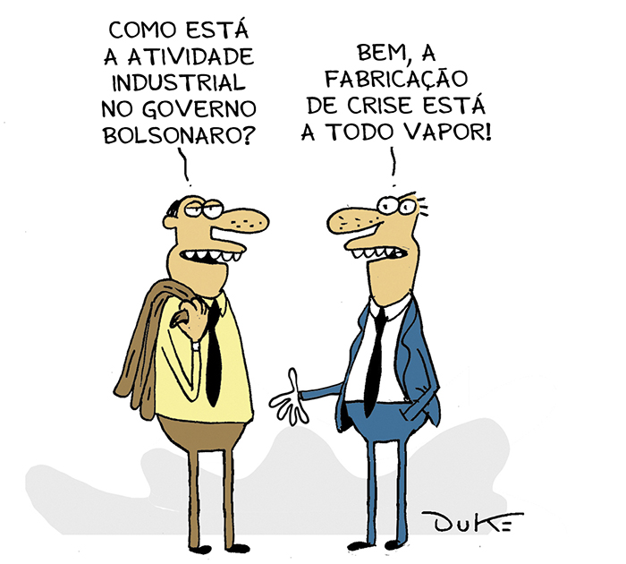 Crise no governo Bolsonaro