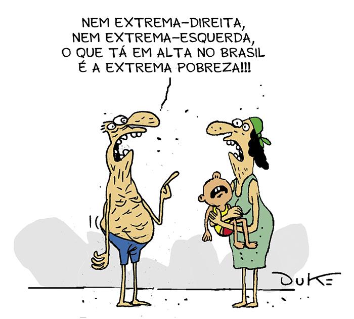 Brasil tem 13,5 milhões de miseráveis