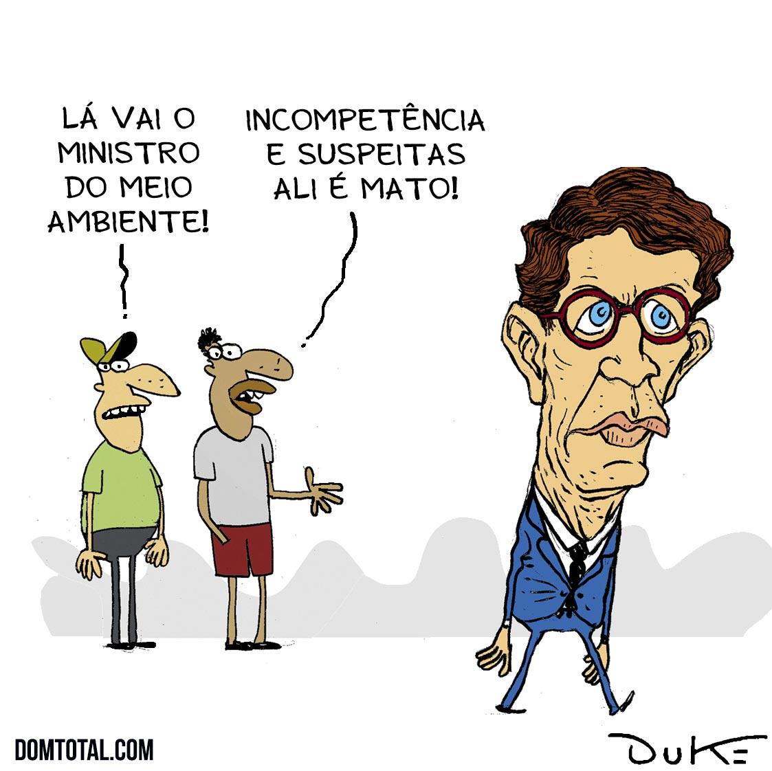 Ricardo Salles investigado pelo MP