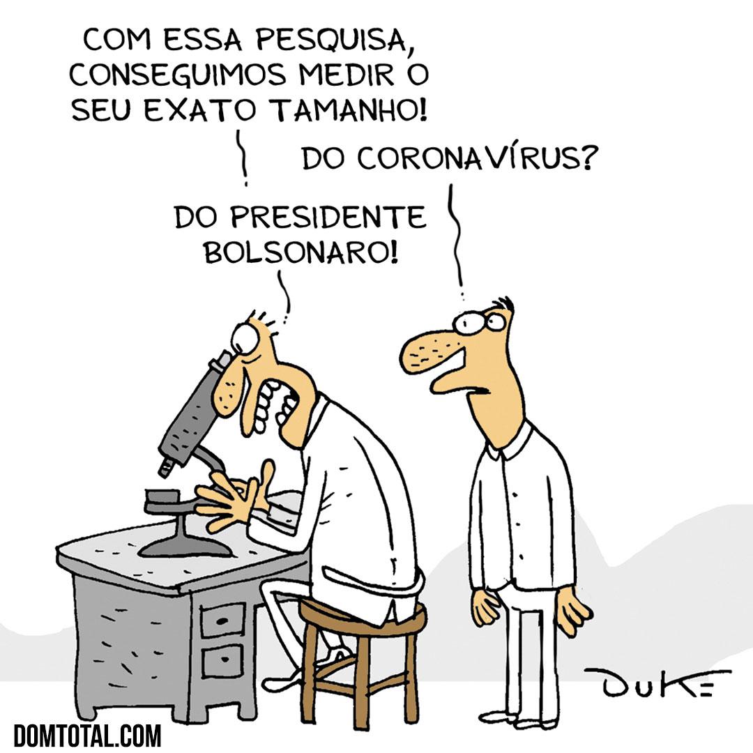 Tamanho de Bolsonaro