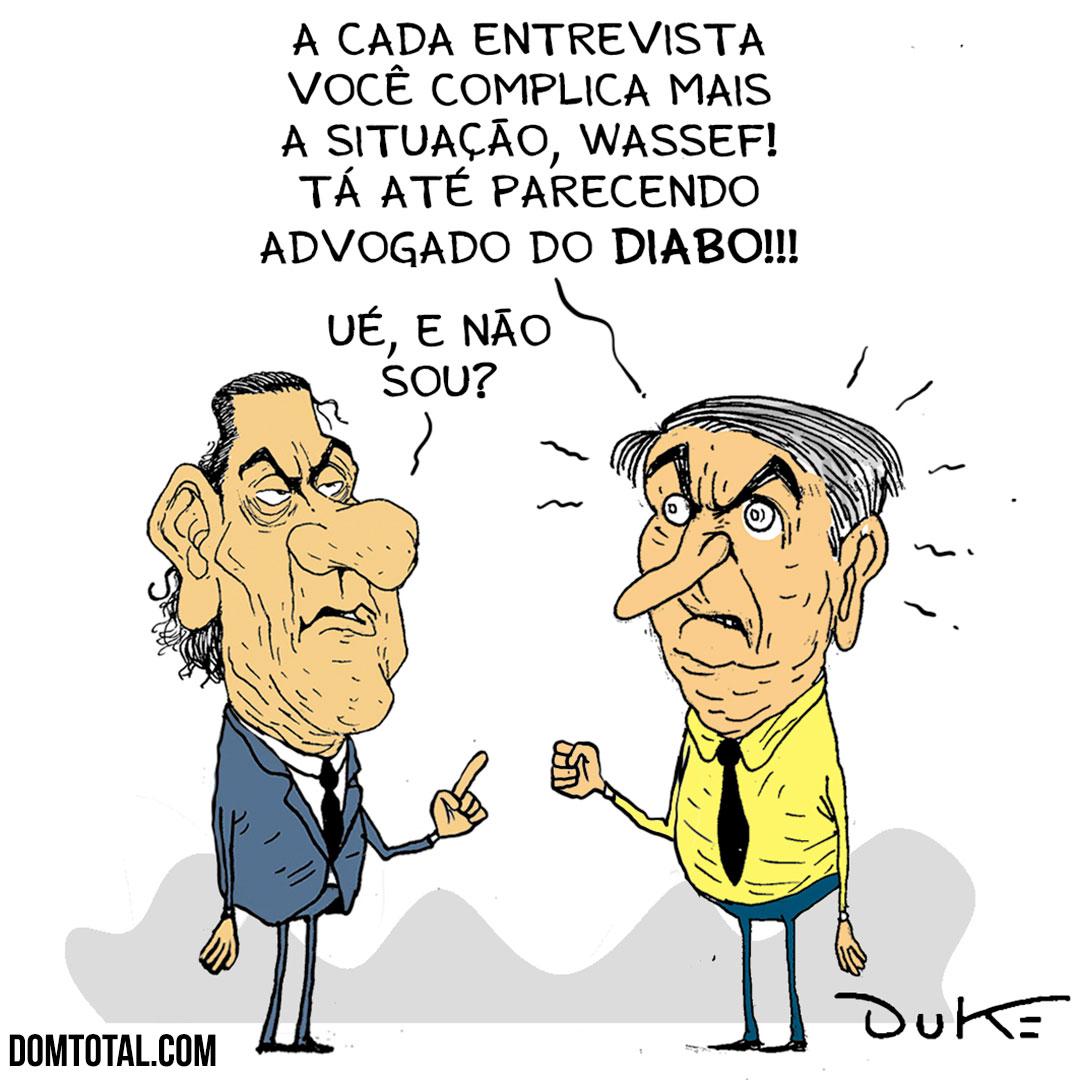 Wassef e Bolsonaro