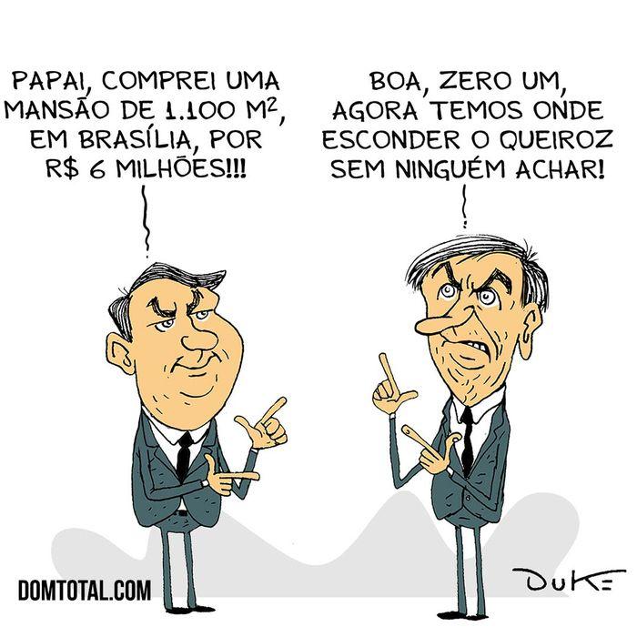 Flávio Bolsonaro compra mansão de R$ 6 mi