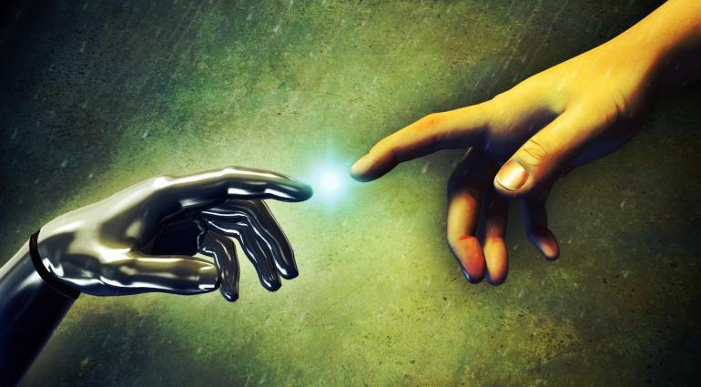 Transumanismo: onde os mundos físico e digital se fundem.