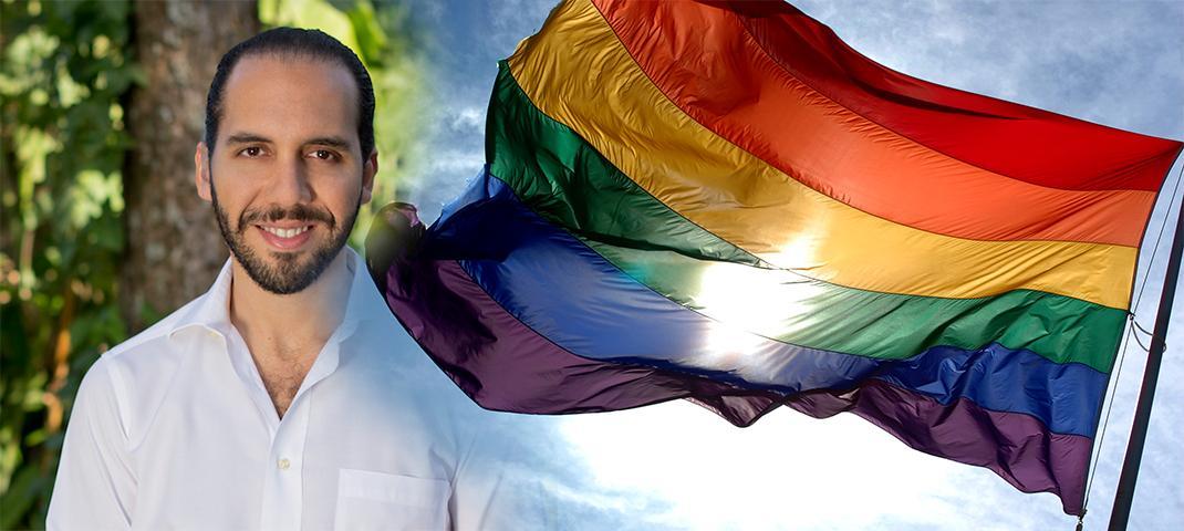 Nayib Bukele é simpatizante do movimento LGBT.