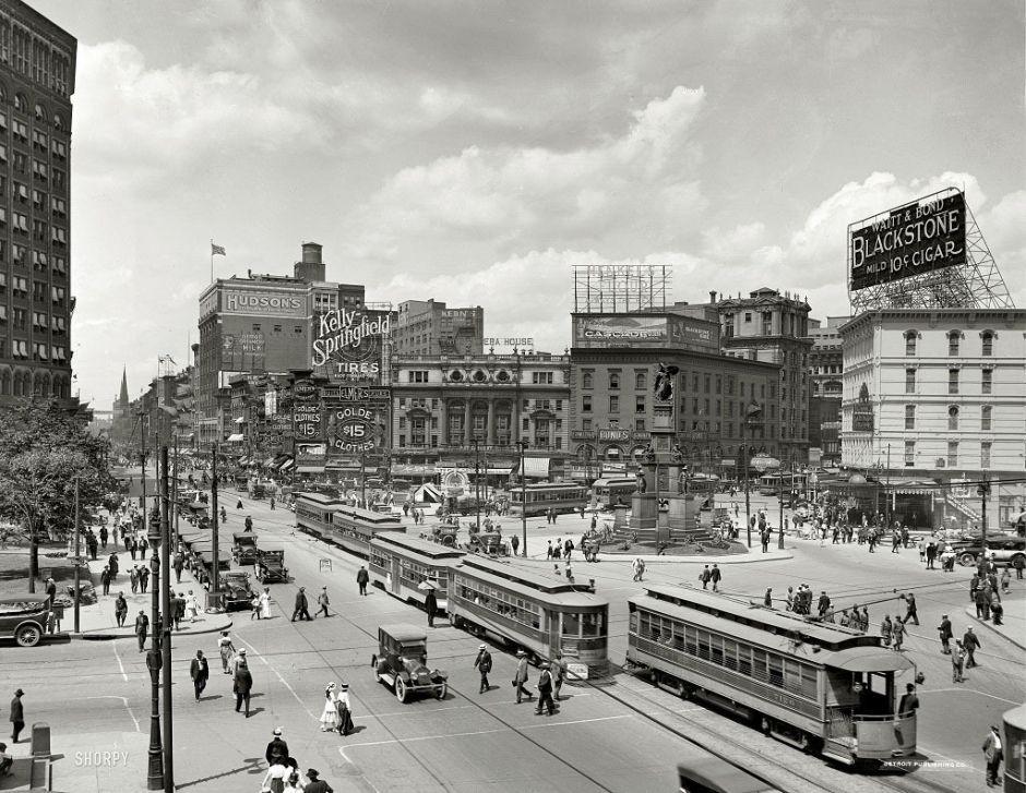 Detroit, Michigan, 1917