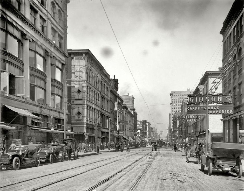 Street of Memphis, 1910