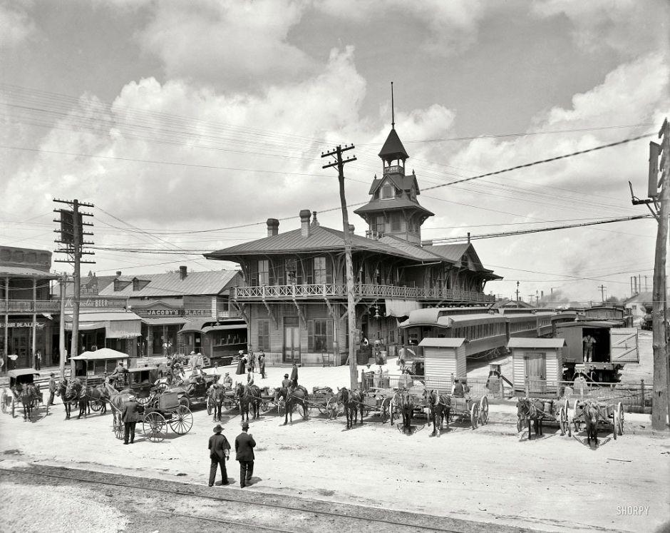 Station Louisville-Nashville, Florida, 1910