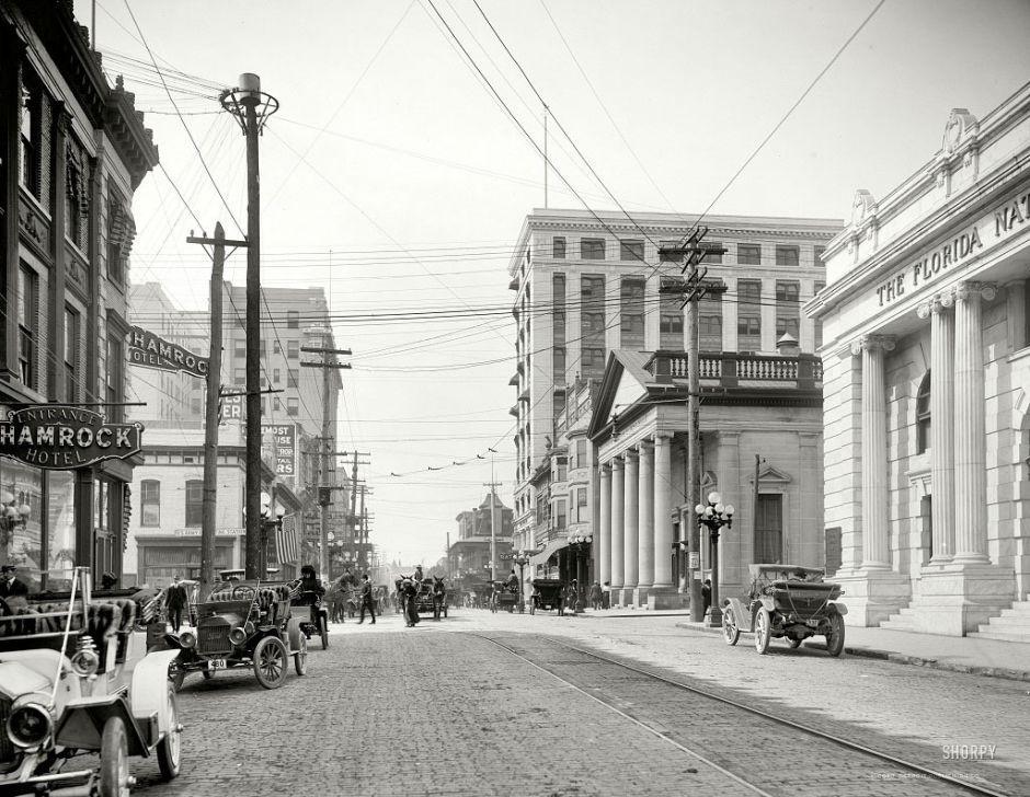 Forsyth Street, Jacksonville, Florida, 1910