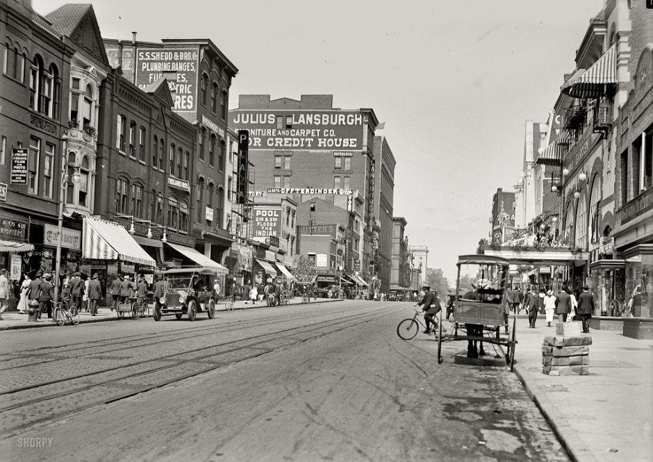 Ninth Street, Washington, D.C., 1915
