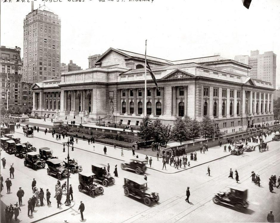 The New York Public Library, New York, 1915