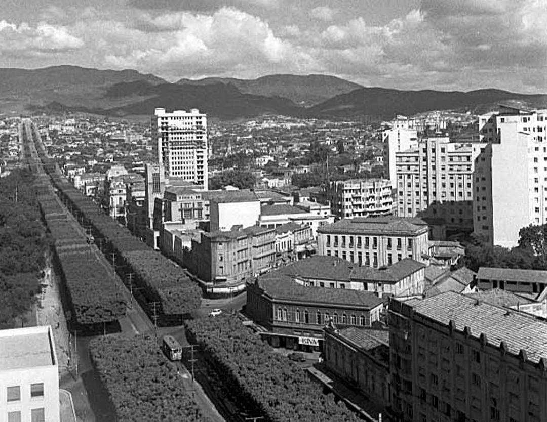 Av Afonso Pena, anos 1950