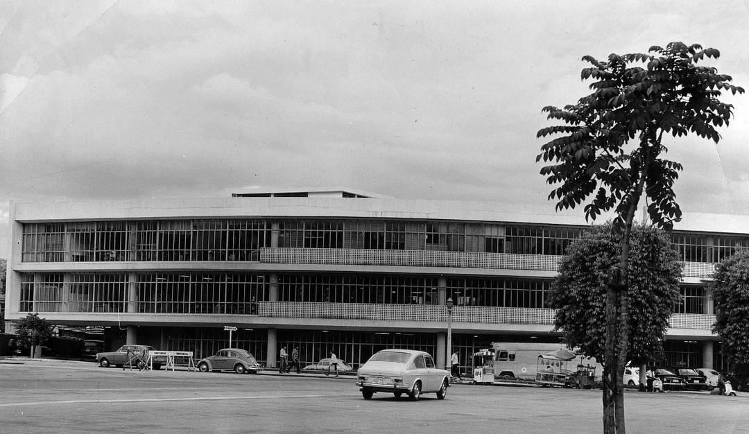 Biblioteca Pública da Praça da Liberdade, anos 1970