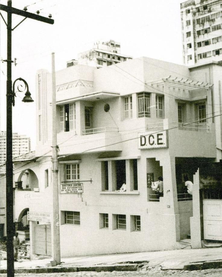 Diretório Central dos Estudantes (DCE), rua Guajajaras, 1962