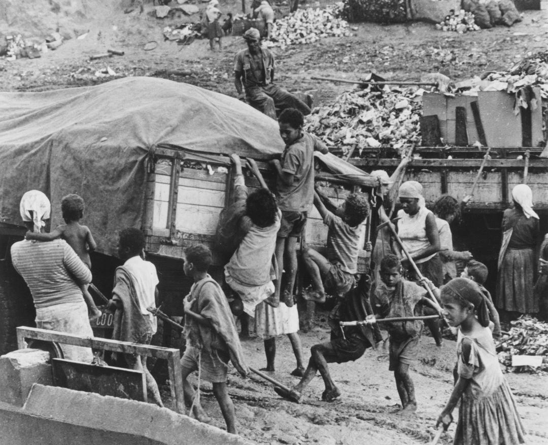 Lixão do Morro das Pedras em 1972
