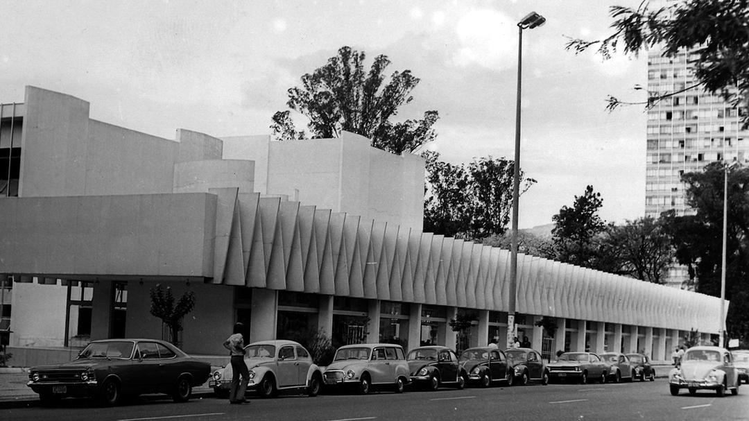 Palácio das Artes nos anos 70