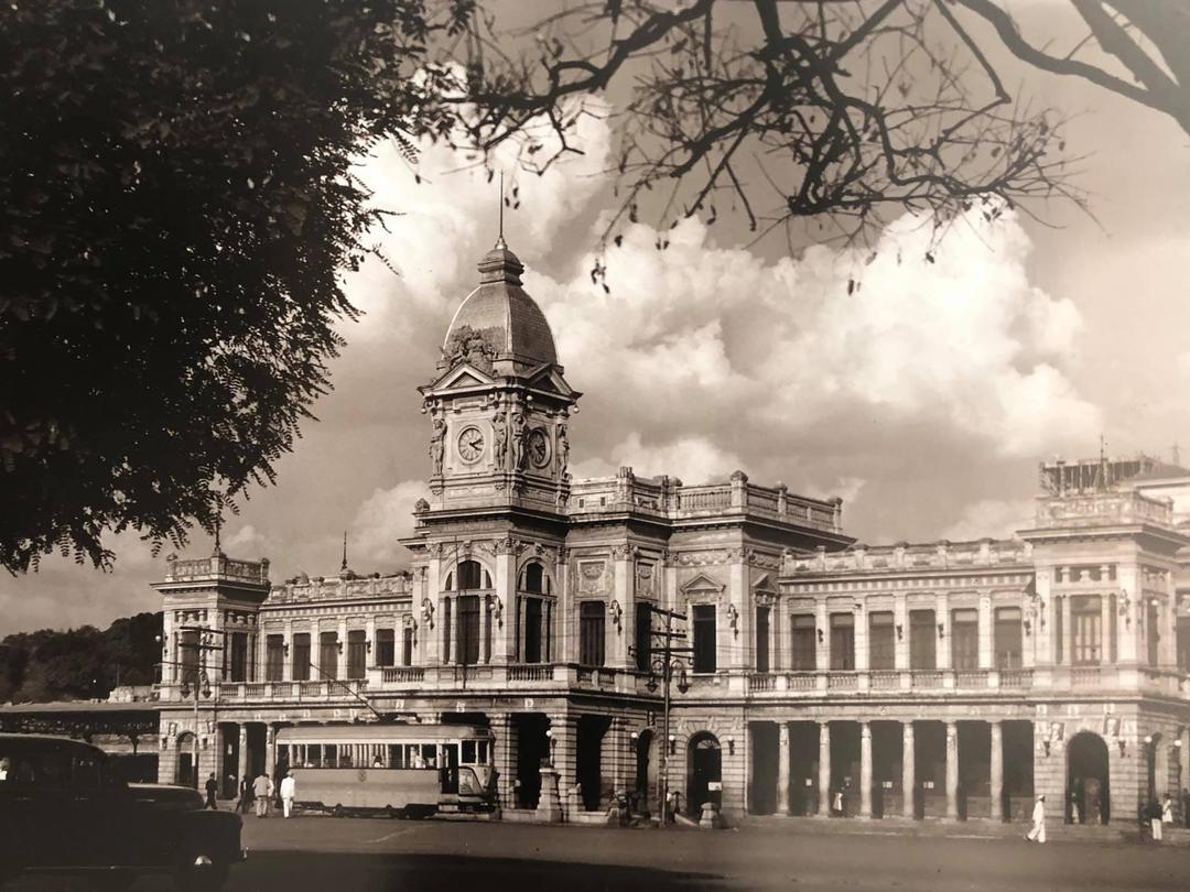 Praça da Estação, anos 1940