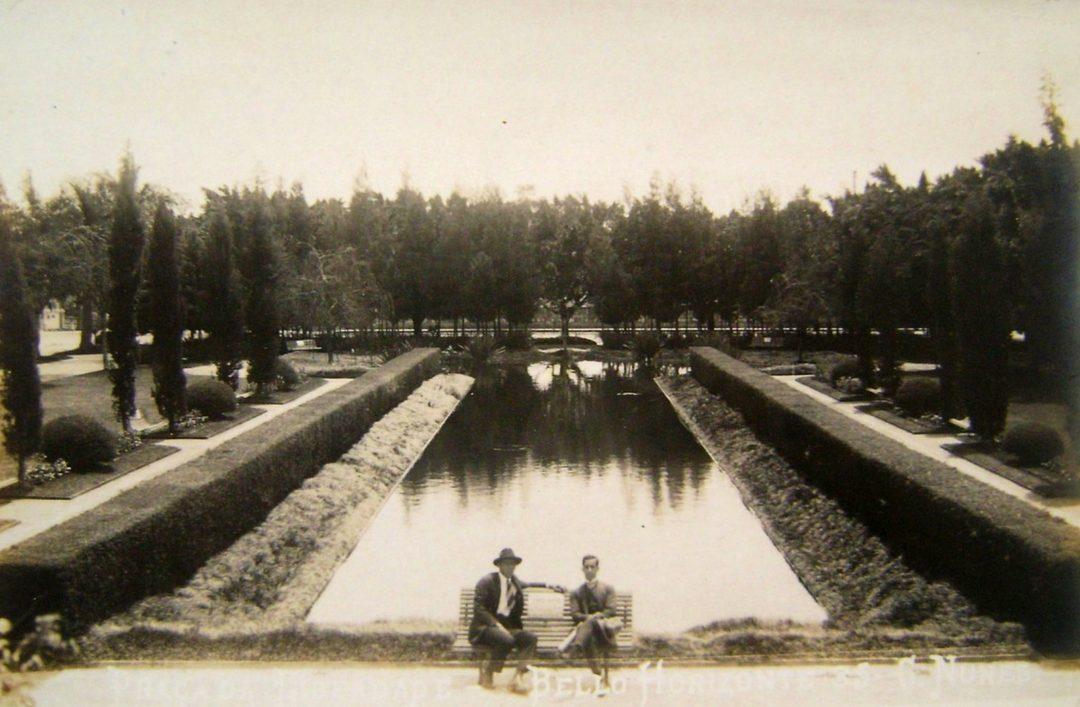 Praça da Liberdade, início dos anos 1900