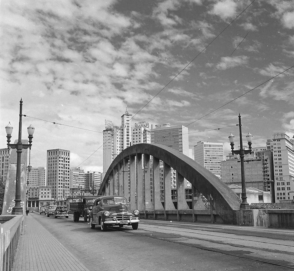 Viaduto Santa Tereza,1958