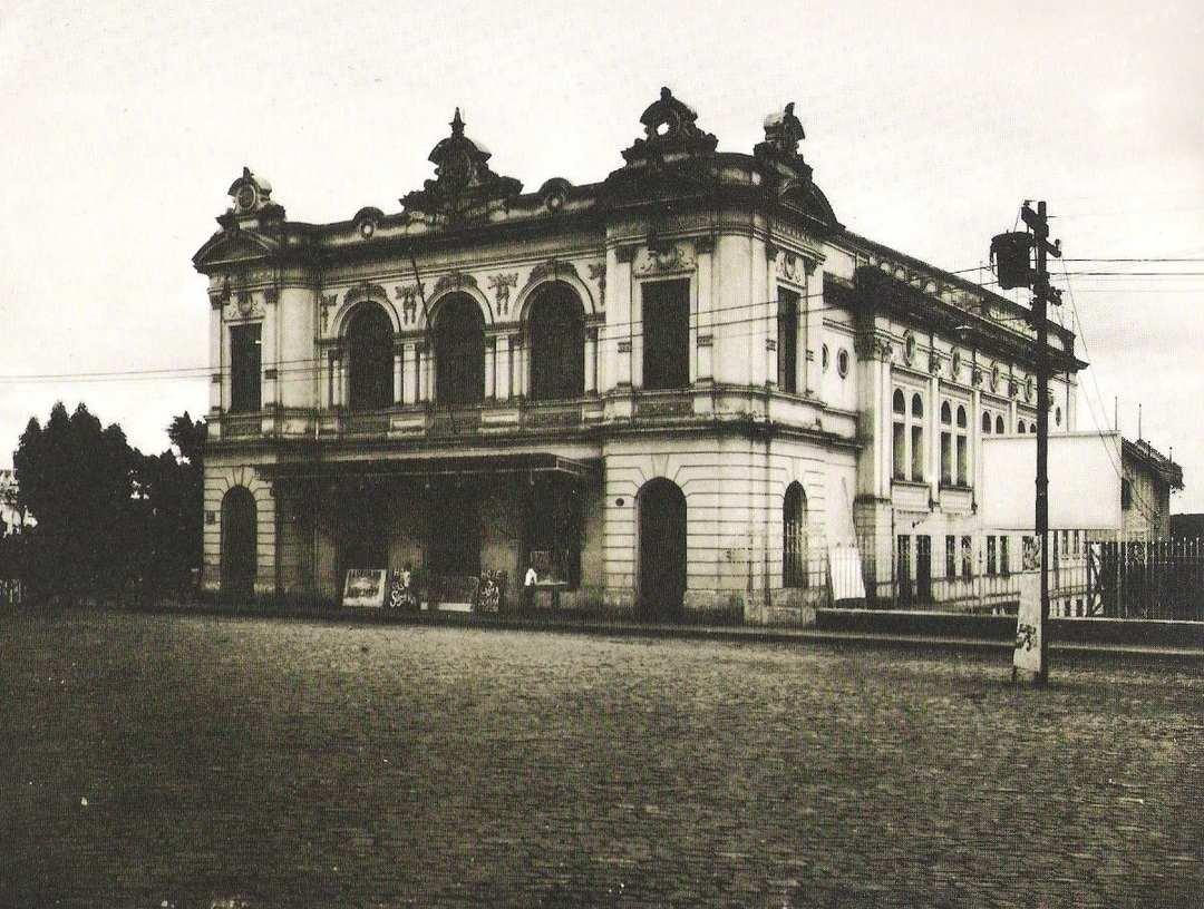 Theatro Municipal, que deu lugar ao cine Metrópole em 1943