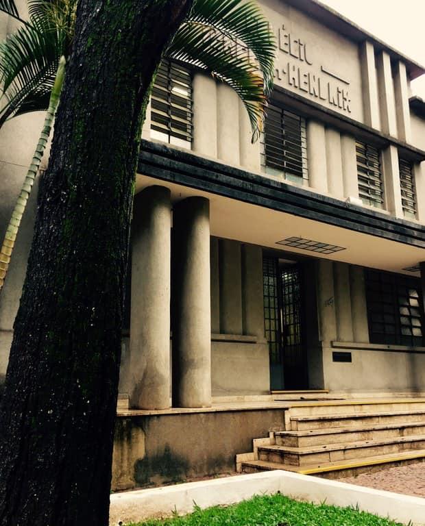 Colégio Isabela Hendrix, rua da Bahia (1904-2020)