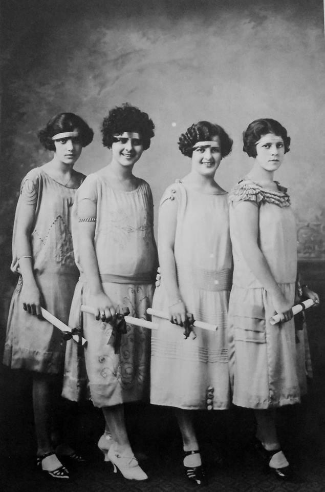 Formandas do colégio Isabela Hendrix, 1921